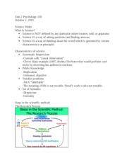 psychology unit 1 and 2 pdf