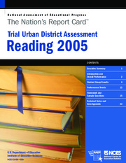 Trial Urban District Assessment, 2005 Reading Report Card