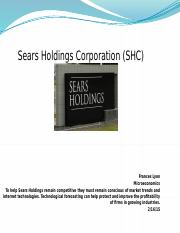 Flyon Sears Holdings Corporation Purpose Statement