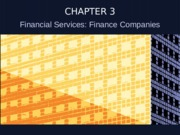 Chuong3-Financial Services Finance Companies