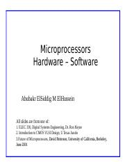 L2- Microprocessors- Hardware and Software.ppt