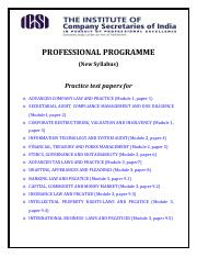 practice test paper-professional(2)