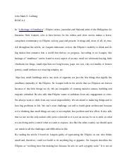 nick joaquin essay a heritage of smallness