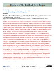 HA4.06.2 Can Disease Change the World Assignment (1).docx