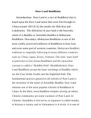 Pure Land Buddhism.docx