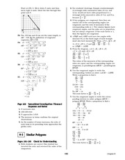 Pre-Calculus Homework Solutions 153