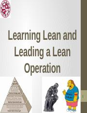 3. MSE 507 -- Learning Lean  Leading a Lean Operation.pptx