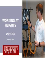ENGG 1070 Working at Heights Handout.ppt
