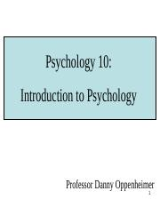 Lecture 1 - Intro psych and research methods.ppt
