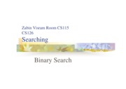 Binary Search by Zabin