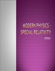1 - Special Relativity.ppt