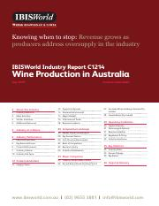 C1214 Wine Production in Australia Industry Report