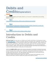 Debits and Credits.docx