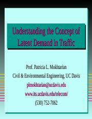 Understanding the Concept of Latent Demand in Traffic.ppt