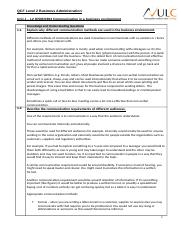 Unit 1  L2 H5061893 Communication in a business environment[658].doc