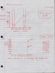 Lecture notes on charts and graphs