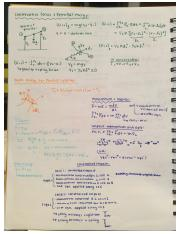 Notes Midterm 2 EMCH 212 part 2