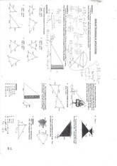 MPM 2DE similar triangles notes