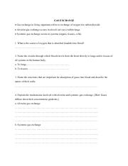 gas exchange worksheet gas exchange gas exchange in living organisms refers to exchange of. Black Bedroom Furniture Sets. Home Design Ideas