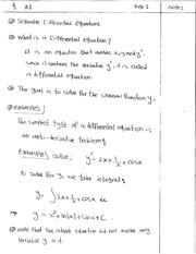 7.1 Separable Differential Equation