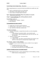 EE 395 Lecture 4 Notes