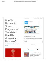 How To Become A 'Smart' Programmer That Gets Hired By Google And Facebook_.pdf