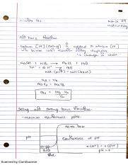 March 09 - Aquaous Ionic Equilibria