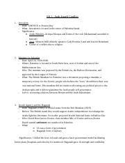 Israli-Arab conflict? Coursework help? Pleassee?!?!?