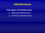 Lecture 6 Atomic Emission Spectroscopy Chapter 14