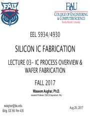 Ic Fabrication Process Pdf