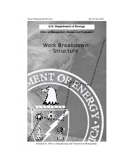 SM6 - Work Breakdown Structure (Project of U.S. Department of Energy).pdf