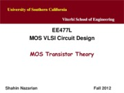 Unit3-MOSTheory-EE477-Nazarian-Fall12
