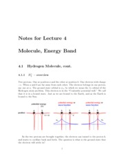 Lecture04-Molecules-Bands
