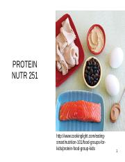 Proteins ppt