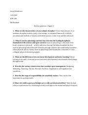 David Henderson HPE Review chapter 2 questions.docx