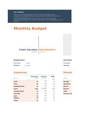 Monthly budget.xlsx