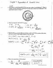 Chapter 5 Application of Gauss's Law (Exam 2 Solution).pdf