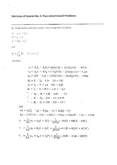 34625_Solutions of Tutorial 4-2014