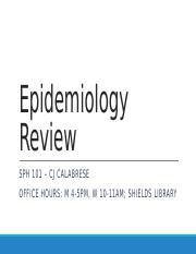 Calabrese_Epidemiology+Review