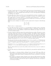 Homework C on Foundations of Algorithms