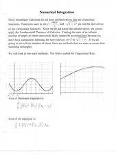 Numerical Integration Notes