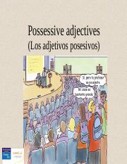 CH03_2. Possessive adjectives.ppt