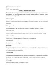 Vocabulary and Concepts-Chapter 3.docx