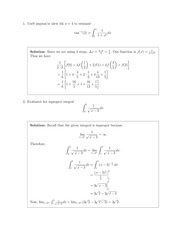 MATH 20340 Fall 2009 Exam 2 Solutions