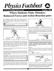 Where Students Make Mistakes Balanced Forces and Action-Reaction Pairs.pdf