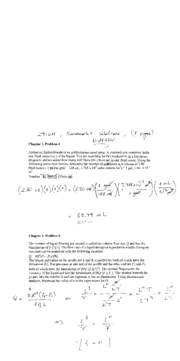 Solutions to Homework 01