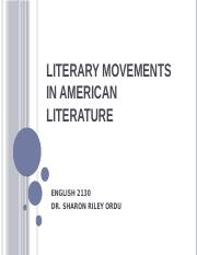 Literary Movements in American Literature (1).pptx