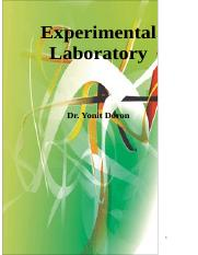 experimenal lab booklet