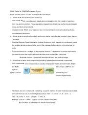 Study Guide chapter 3 and 4.docx