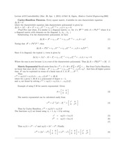 EE 128 Lecture 19 Notes